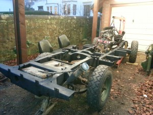 109 rolling chassis