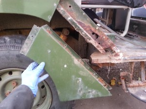 side frame corrosion