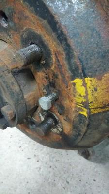 109 drum extractor screw