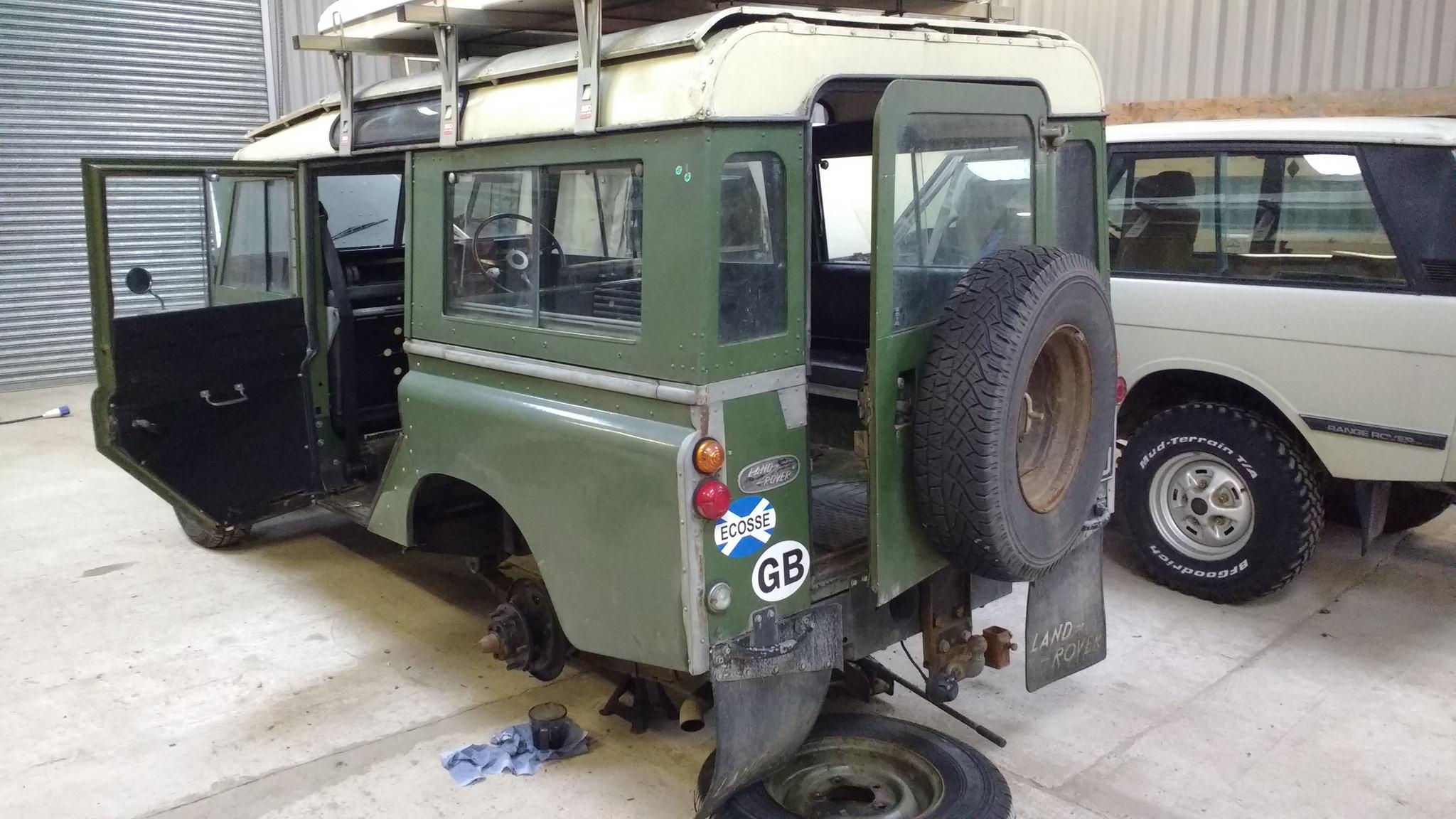 Rusty Land Rovers