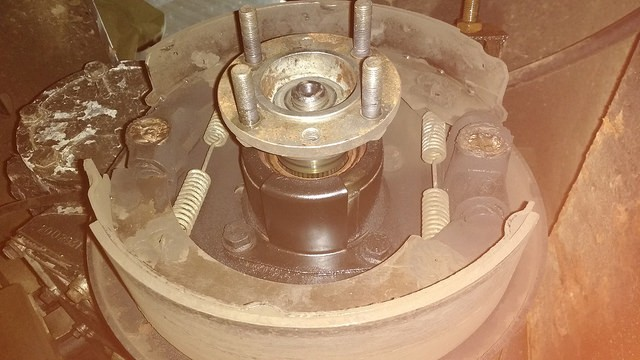 output flange removal